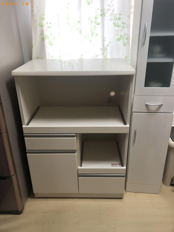 【須賀川市】カラーボックス、レンジ台の回収・処分ご依頼