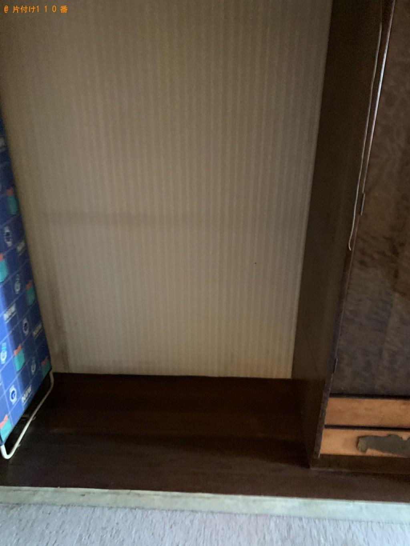 【本宮市】衣装ケース等の回収・処分とタンスの運搬ご依頼