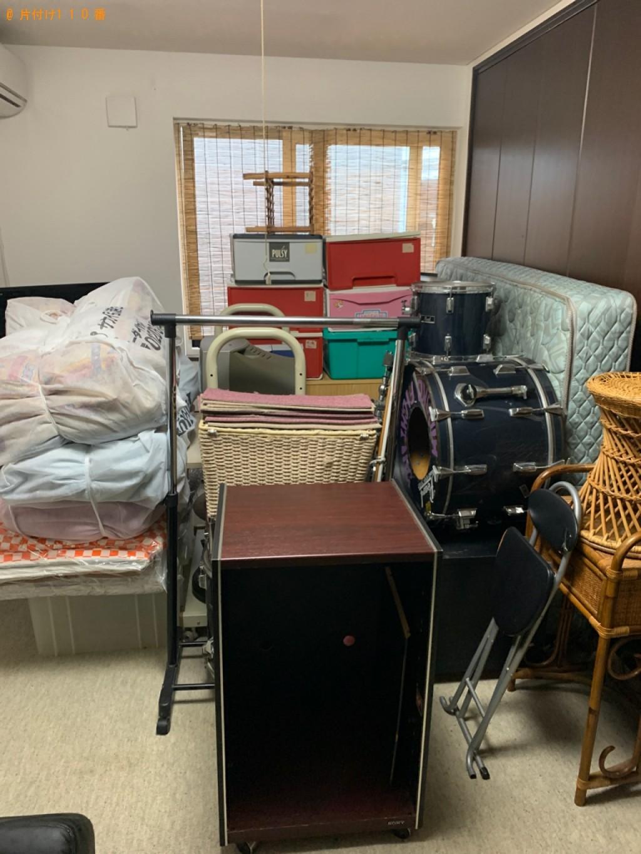 【福島市】食器棚、マットレス付きシングルベッド等の回収・処分