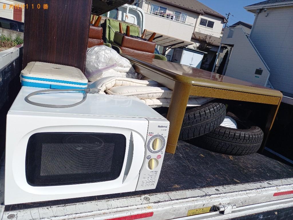 【郡山市】遺品整理で電子レンジ、こたつ、布団の回収・処分ご依頼