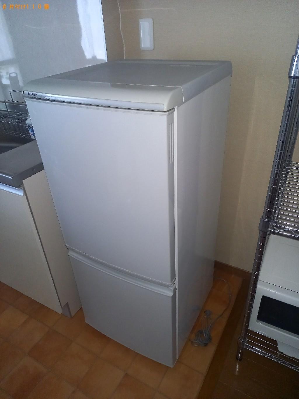 【いわき市】冷蔵庫、洗濯機、シングルベッド、衣装ケース等の回収