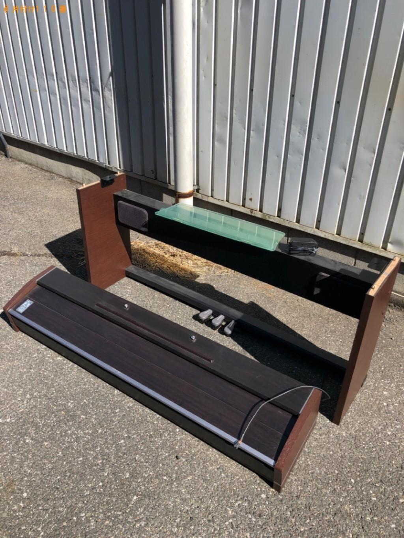 【いわき市】電子ピアノの回収・処分ご依頼 お客様の声