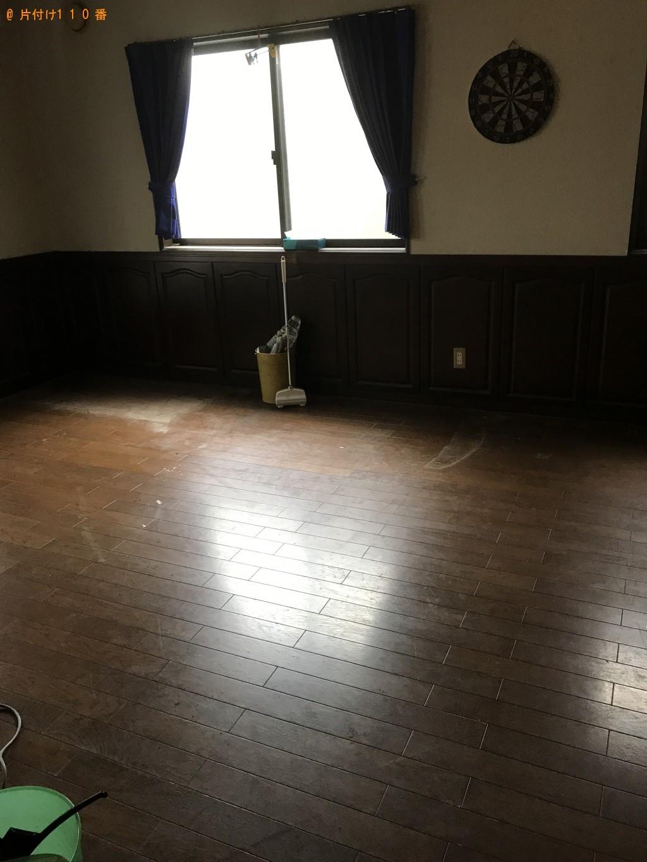 【白河市】ダイニングテーブル、ソファー、学習机等の回収・処分 お客様の声