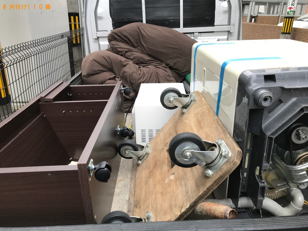 【南相馬市】洗濯機、テレビ、布団、小型家電等の回収・処分ご依頼