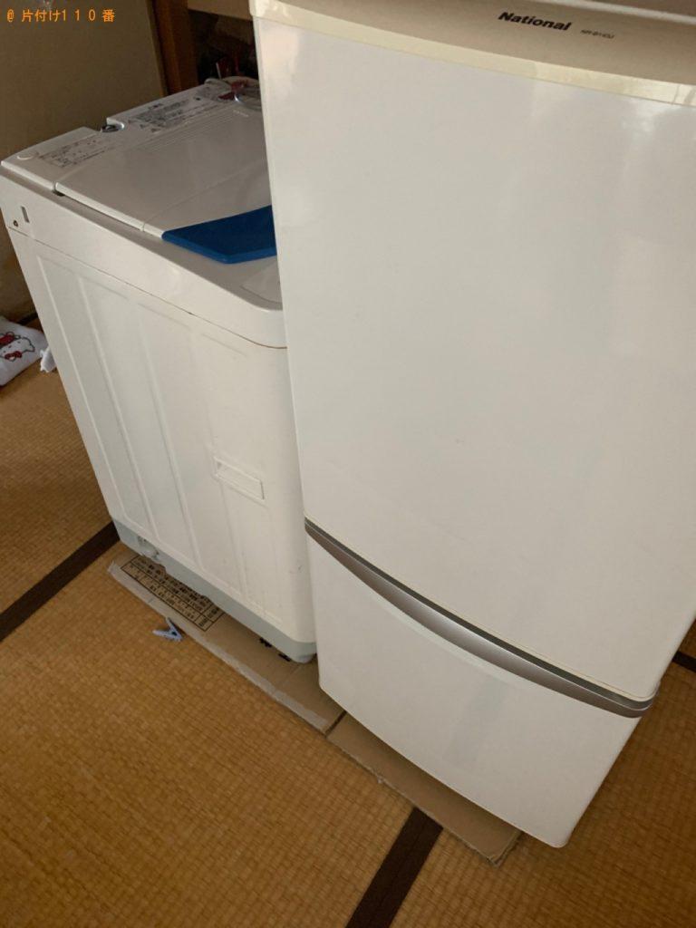 【二本松市】遺品整理に伴い蔵庫、洗濯機の回収・処分ご依頼 お客様の声