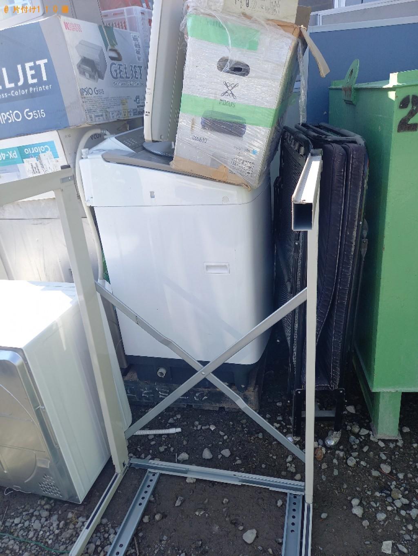 【いわき市】工場の機械、洗濯機、折り畳みベッド、家電等の回収