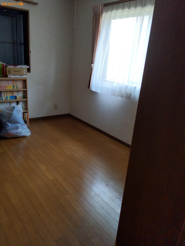 【いわき市】マットレス付きシングルベッド、椅子、学習机等の回収