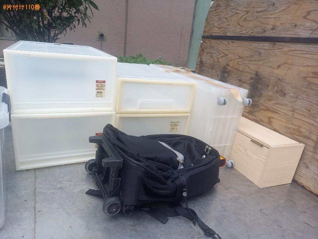 衣類ケース、家具、バッグの回収・処分ご依頼 お客様の声